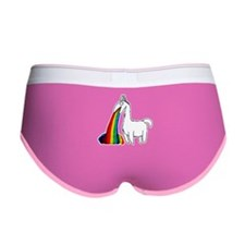 Llama Vomit Women's Boy Brief