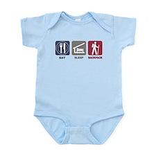 Eat Sleep Backpack - Picto Infant Bodysuit