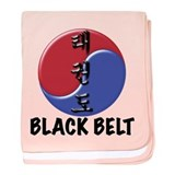 TKD Black Belt Infant Blanket