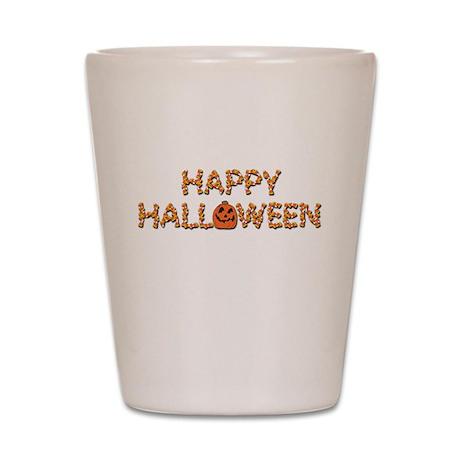 Halloween Costume Trick or Tr Shot Glass