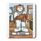 Nurse, Male - Mousepad