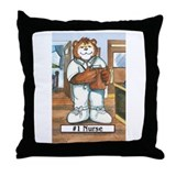 Nurse, Male - Throw Pillow