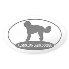 Cute Australian labradoodle Decal