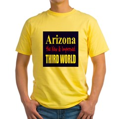 Arizona New 3rd World Yellow T-Shirt