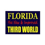 Florida New 3rd World Rectangle Magnet