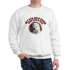 American eskimo Mothers Day Sweatshirt