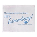 Extraordinary! (Grandson) Throw Blanket