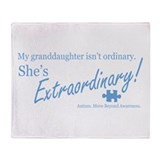 Extraordinary! (G'daughter) Throw Blanket