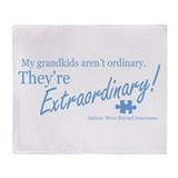 Extraordinary! (Grandkids) Throw Blanket
