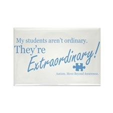 Extraordinary! (Students) Rectangle Magnet (10 pac