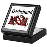 Dachshund Mom Keepsake Box
