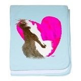 Love Horses Gifts & Tees baby blanket