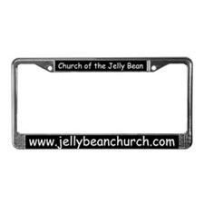 Jelly Bean Church License Plate Frame