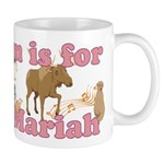 M is for Mariah Mug