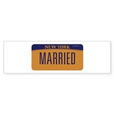 New York Marriage Equality Bumper Sticker