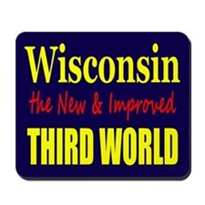 Wisconsin New 3rd World Mousepad