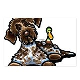 Funny Pointing Griffon Postcards (Package of 8)