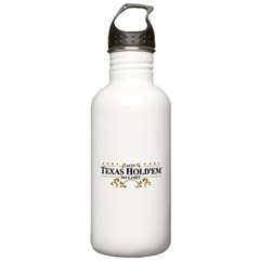 Aces Texas Hold'em No Limit Water Bottle