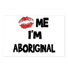 Kiss Me I'm Aboriginal Postcards (Package of 8)