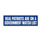 Real Patriots Car Magnet 10 x 3