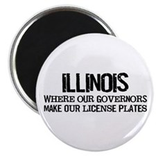 "Illinois Governor 2.25"" Magnet (10 pack)"