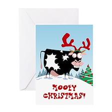 Mooey Christmas! Greeting Card