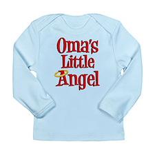 Oma's Little Angel Long Sleeve Infant T-Shirt