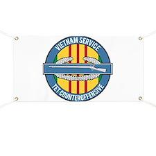 Vietnam TET 69 CIB Banner
