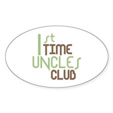1st Time Uncles Club (Green) Decal