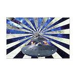 """Space Warp"" Star Trek Mini Poster Print"