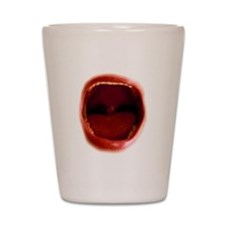 RED red Shot Glass