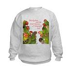 Wild Parrots Kids Sweatshirt