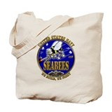 USN Navy Seabees We Build We Tote Bag