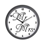 Mr. & Mrs. Wall Clock