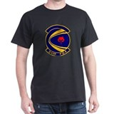 1st Military Airlift Black T-Shirt