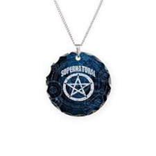 Supernatural Necklace Circle Charm