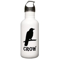 Black Crow Water Bottle