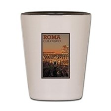 Colosseum Moon Shot Glass