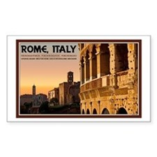 Rome Sunset Decal