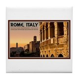 Rome Sunset Tile Coaster