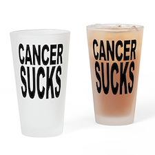Cancer Sucks Pint Glass