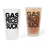 Gas Prices Suck Pint Glass