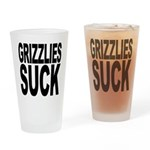 Grizzlies Suck Pint Glass