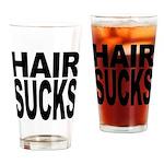 Hair Sucks Pint Glass
