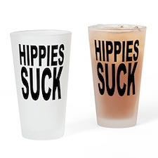 Hippies Suck Pint Glass