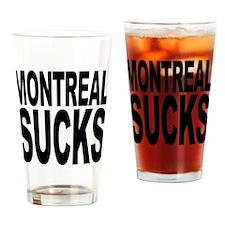 Montreal Sucks Pint Glass
