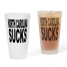 North Carolina Sucks Pint Glass