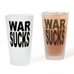 War Sucks Pint Glass