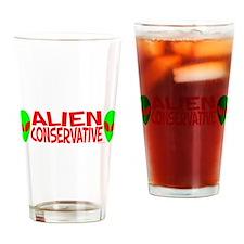 Alien Conservative Pint Glass