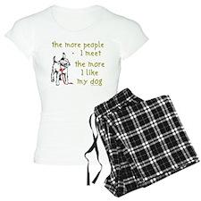 The More People I Meet (Dog) Pajamas